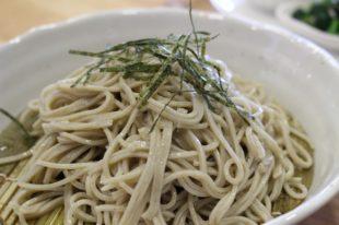 安曇川キッチン ざる蕎麦